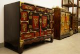 Traditional korean drawers chest with feet