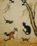 Microfiber Cleaning Cloth (Korean folk painting)